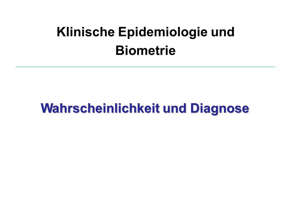 Klinische Epidemiologie und Biometrie