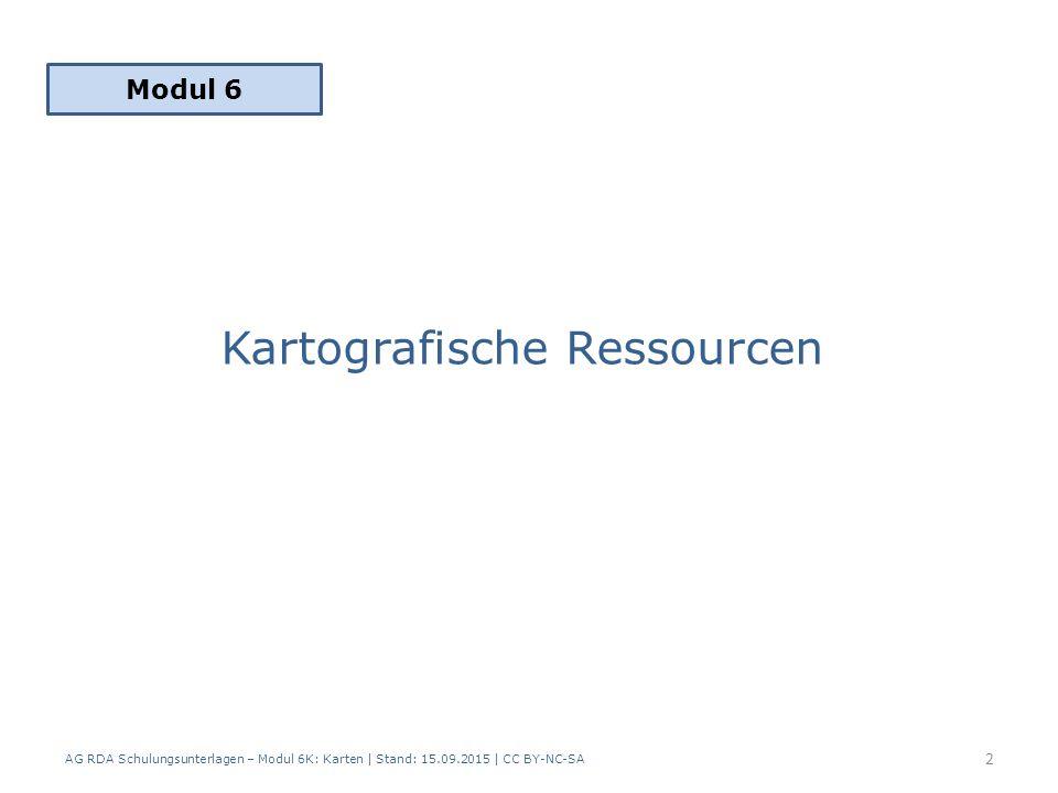 Kartografische Ressourcen