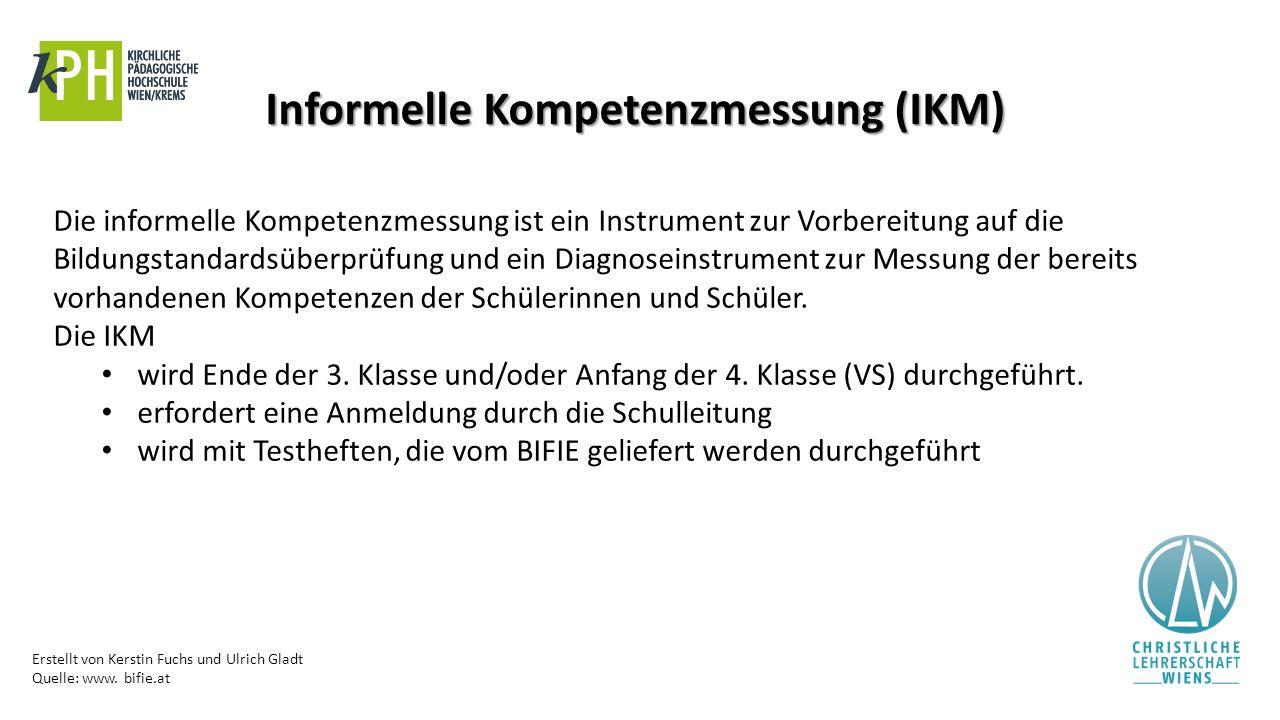 Informelle Kompetenzmessung (IKM)