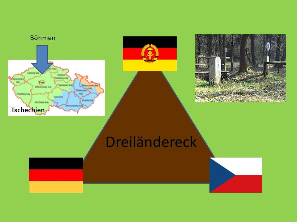 Dreiländereck Böhmen Tschechien