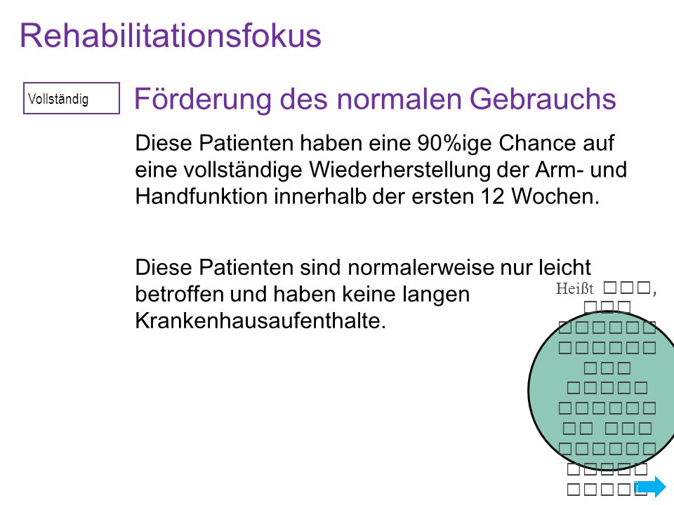 Rehabilitationsfokus