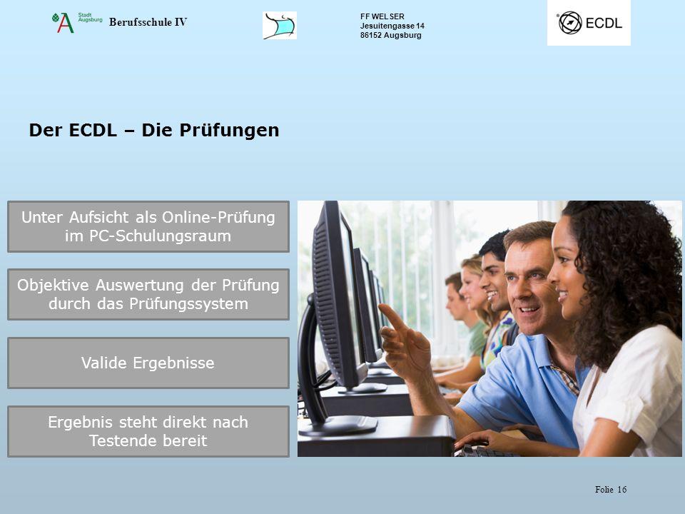 Der ECDL – Die Prüfungen