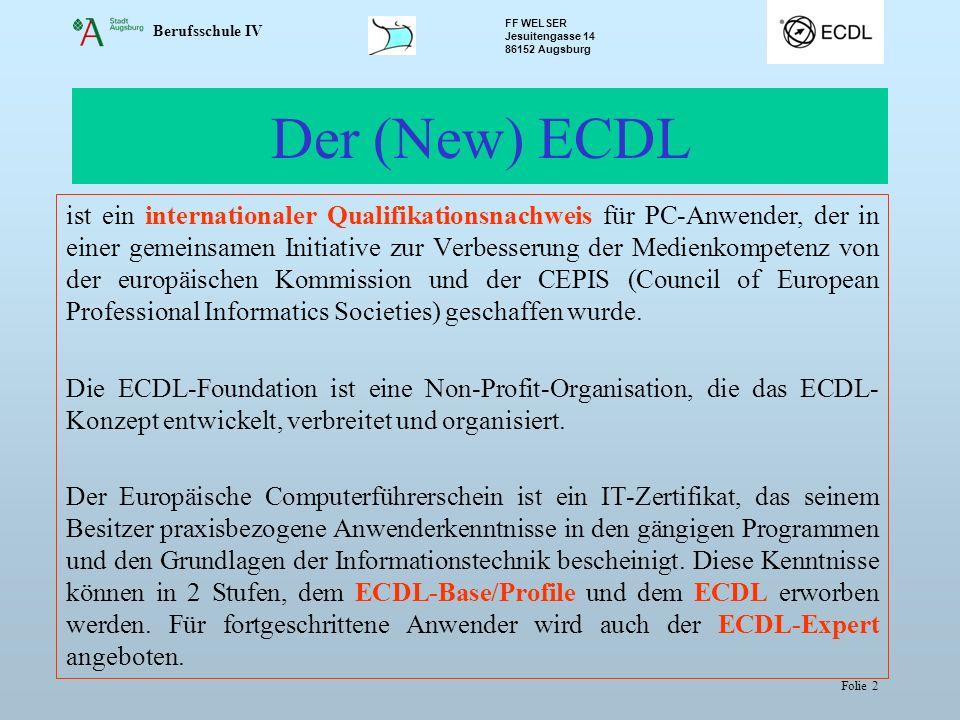 Der (New) ECDL