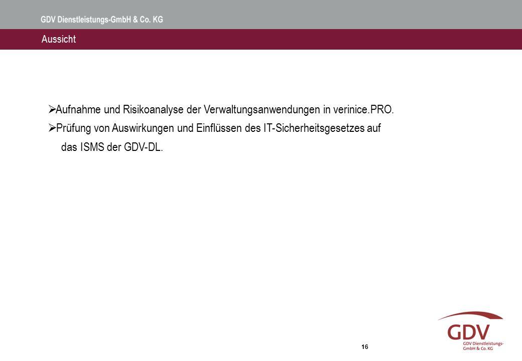 Vielen Dank! Fragen Torsten Hemmer, GDV Dienstleistungs-GmbH & Co. KG