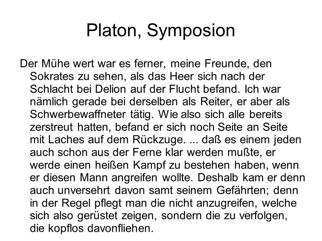 Platon, Symposion