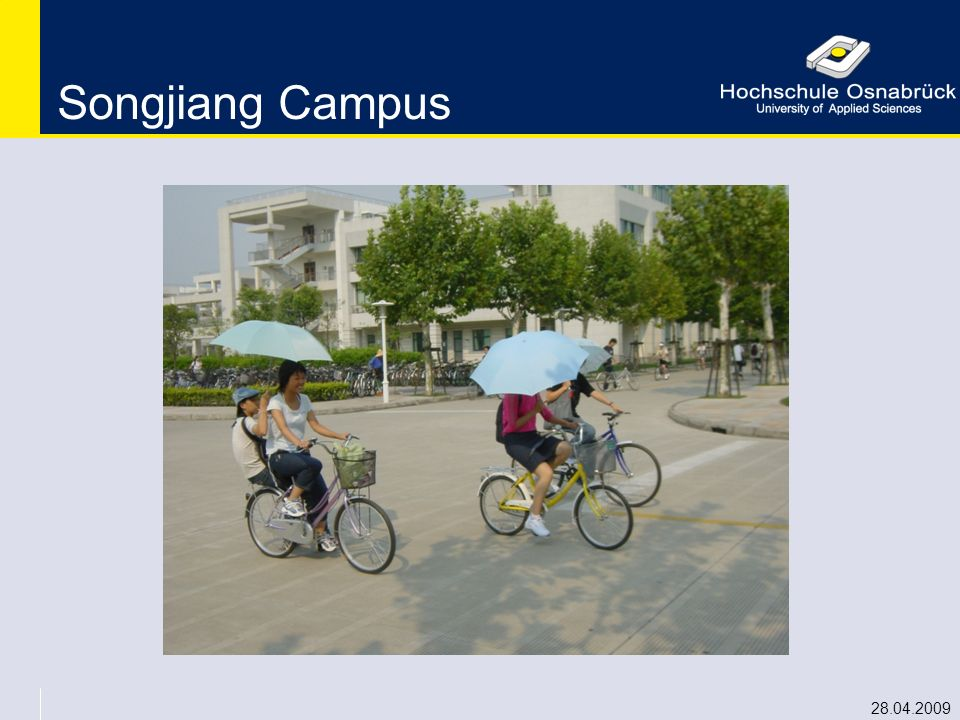 Songjiang Campus 28.04.2009