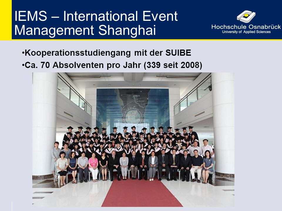IEMS – International Event Management Shanghai