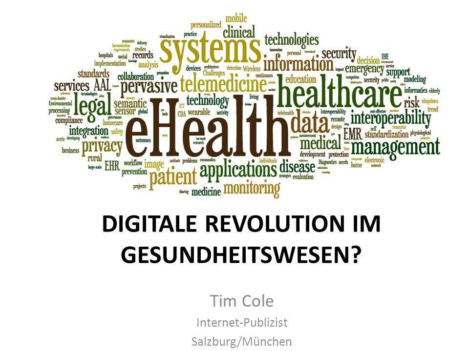 Digitale Revolution im Gesundheitswesen