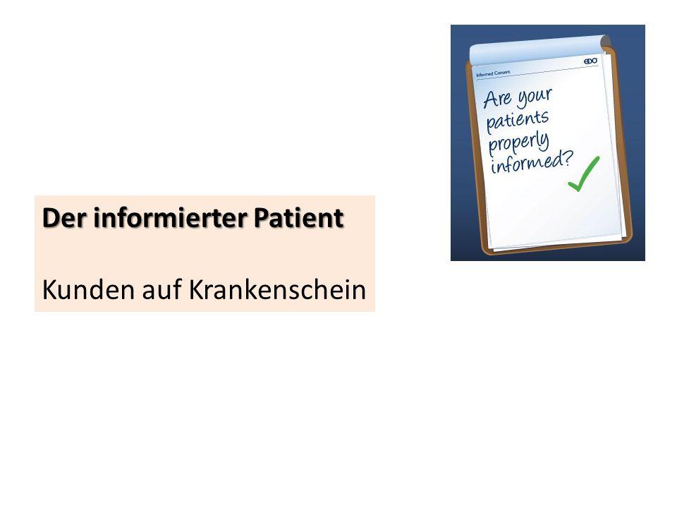 Der informierter Patient