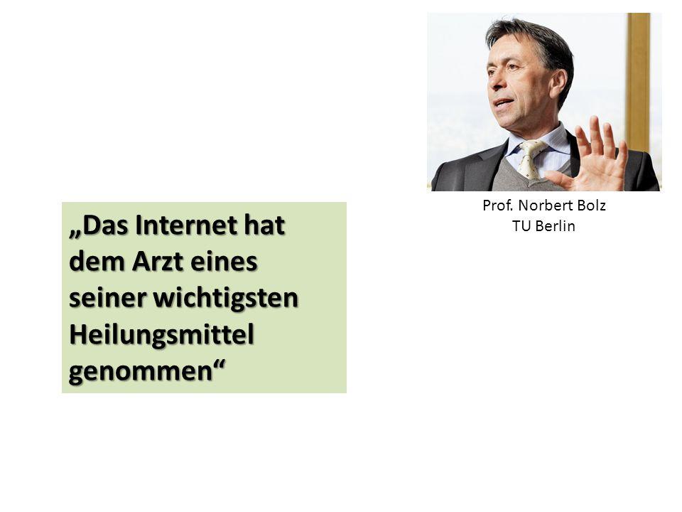 Prof. Norbert Bolz TU Berlin.