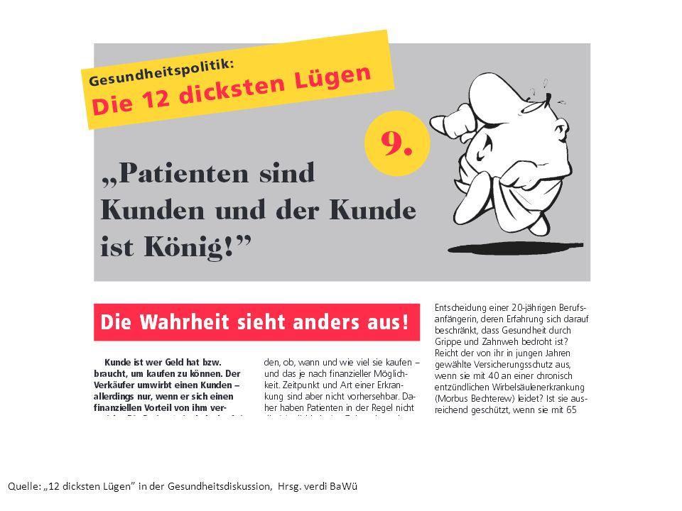 """Quelle: """"12 dicksten Lügen in der Gesundheitsdiskussion, Hrsg"""