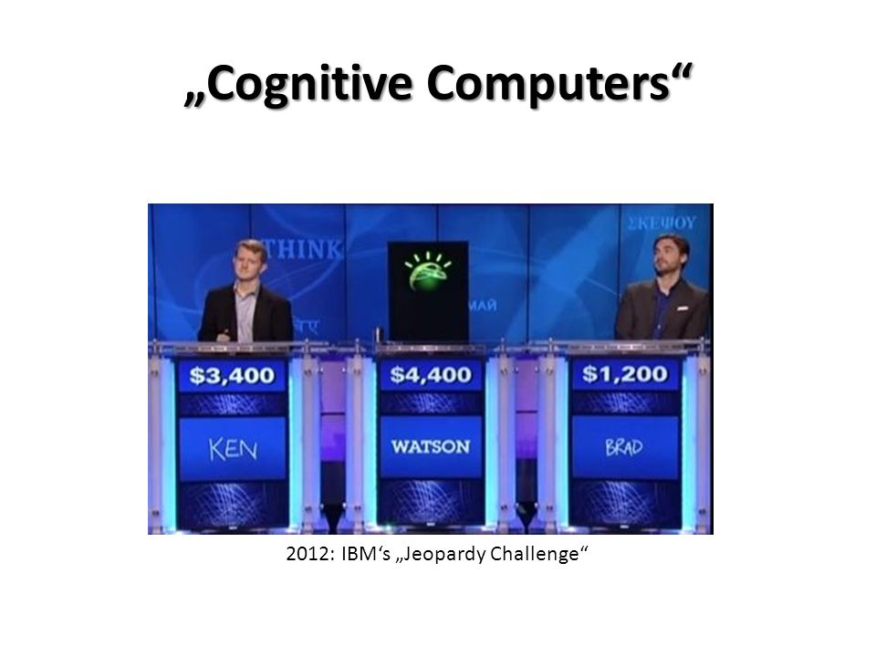 """Cognitive Computers"