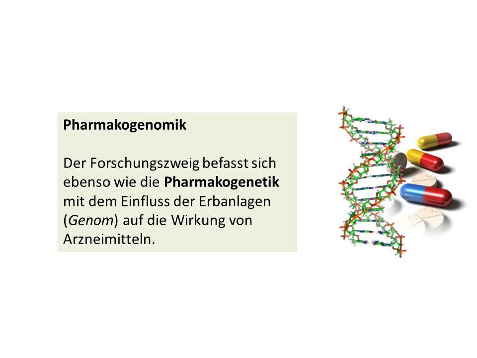 Pharmakogenomik