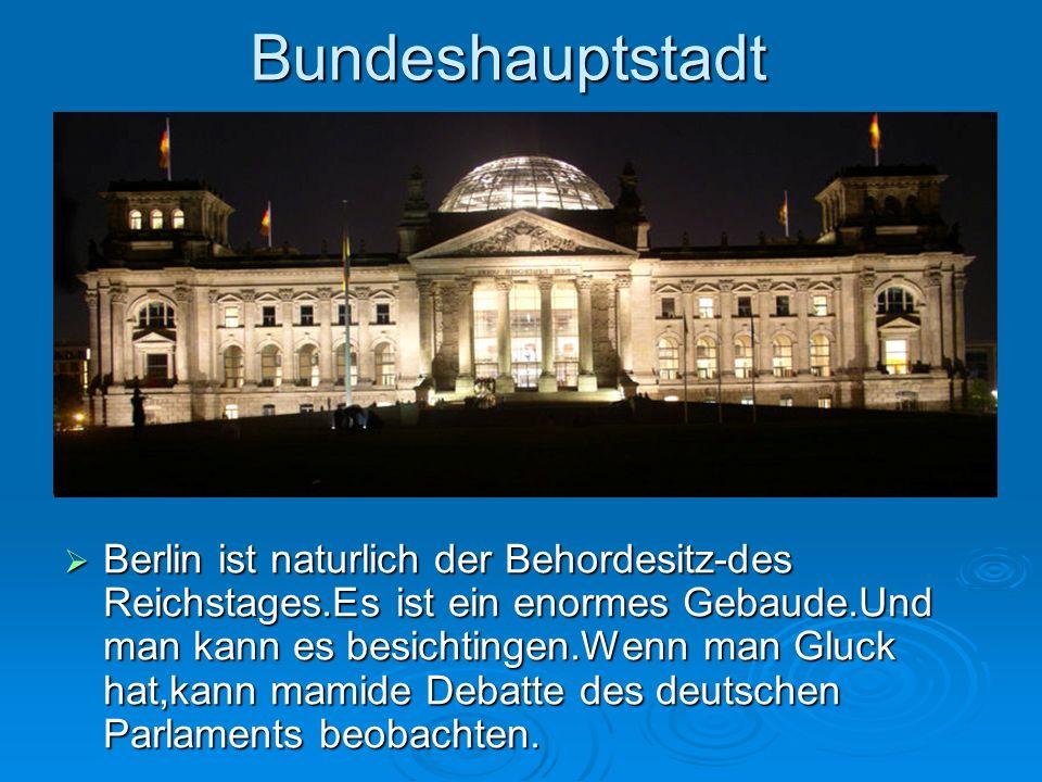 Bundeshauptstadt