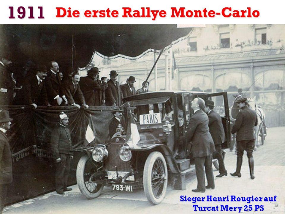 Sieger Henri Rougier auf Turcat Mery 25 PS