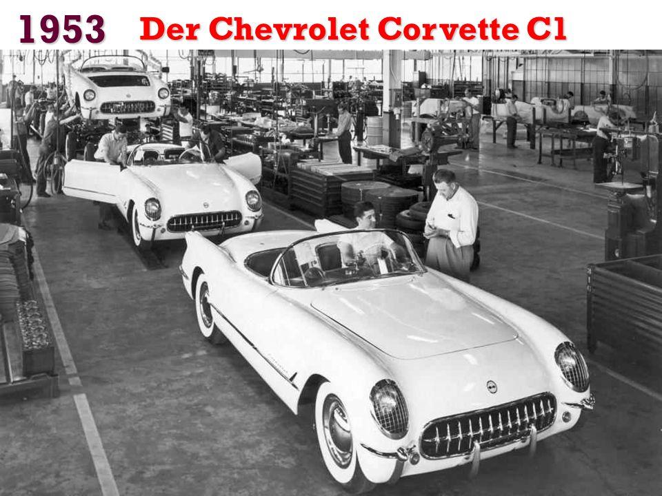 1953 Der Chevrolet Corvette C1
