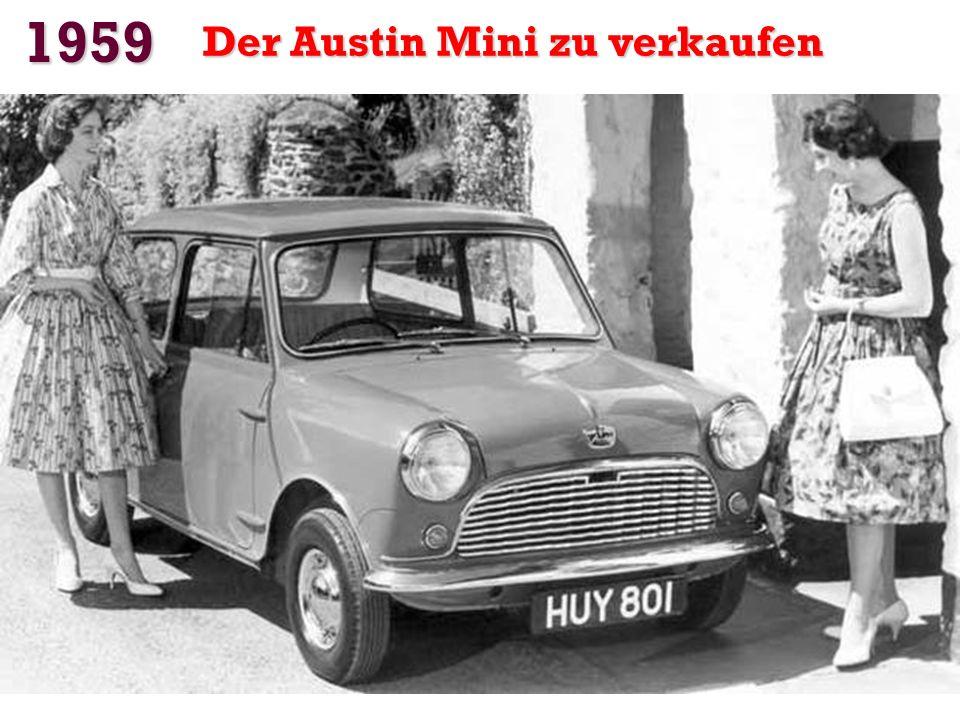 1959 Der Austin Mini zu verkaufen