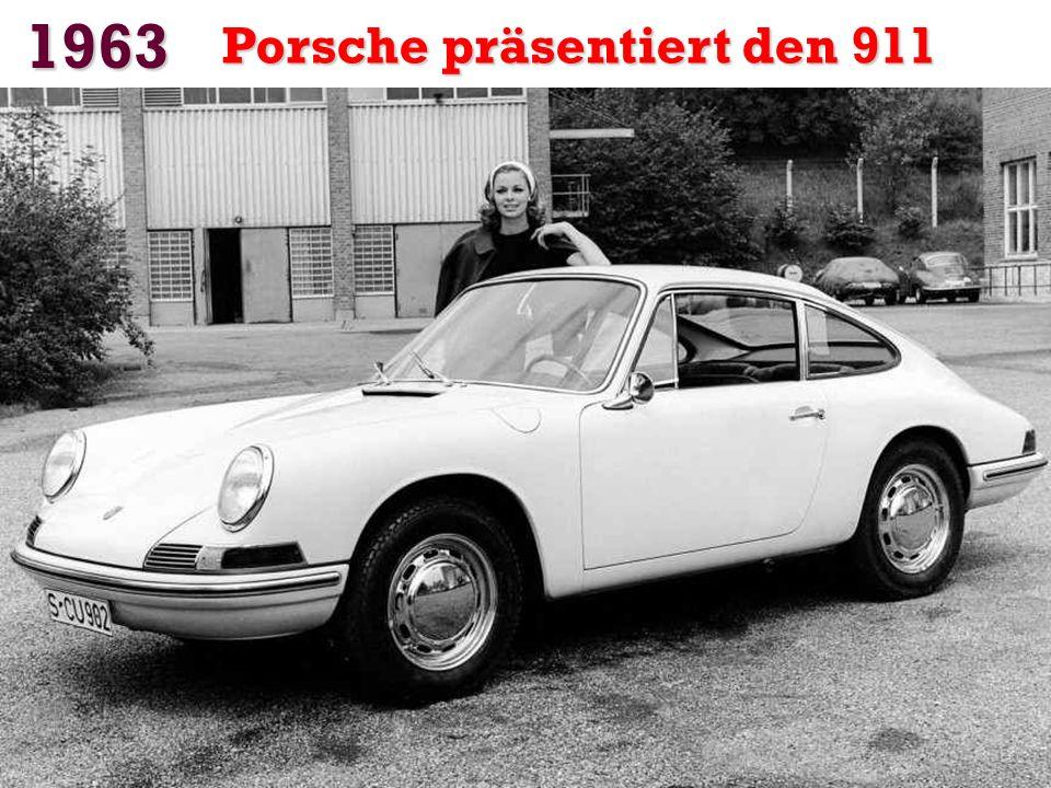 1963 Porsche präsentiert den 911