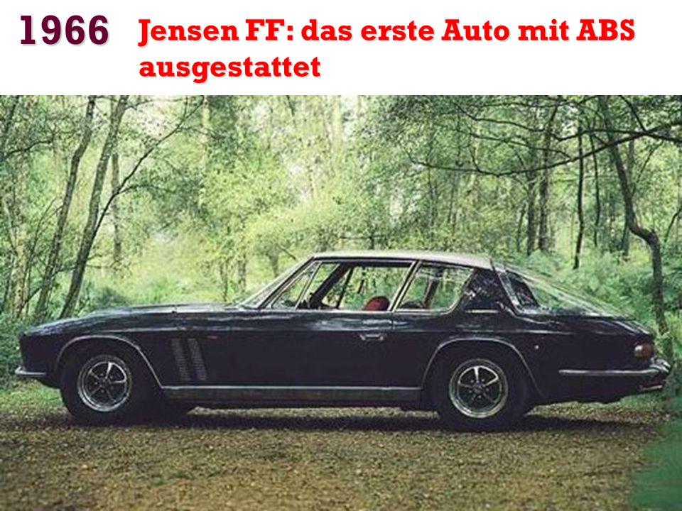 1966 Jensen FF: das erste Auto mit ABS ausgestattet