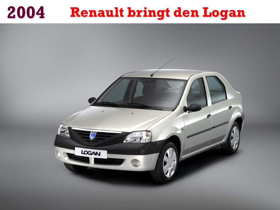 2004 Renault bringt den Logan