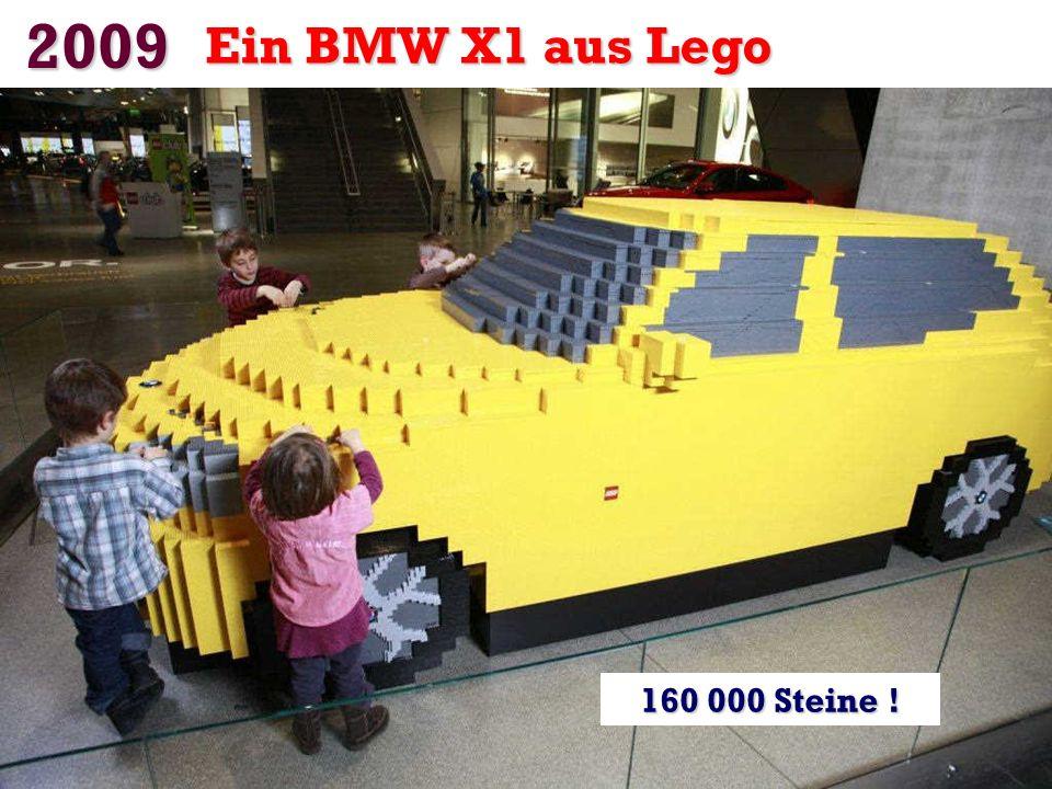 2009 Ein BMW X1 aus Lego 160 000 Steine !