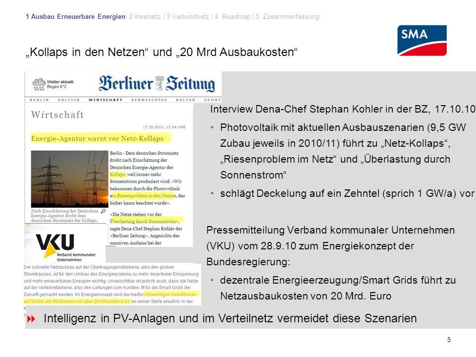"""""""Kollaps in den Netzen und """"20 Mrd Ausbaukosten"""