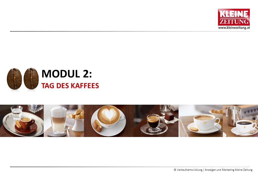 MODUL 2: TAG DES KAFFEES
