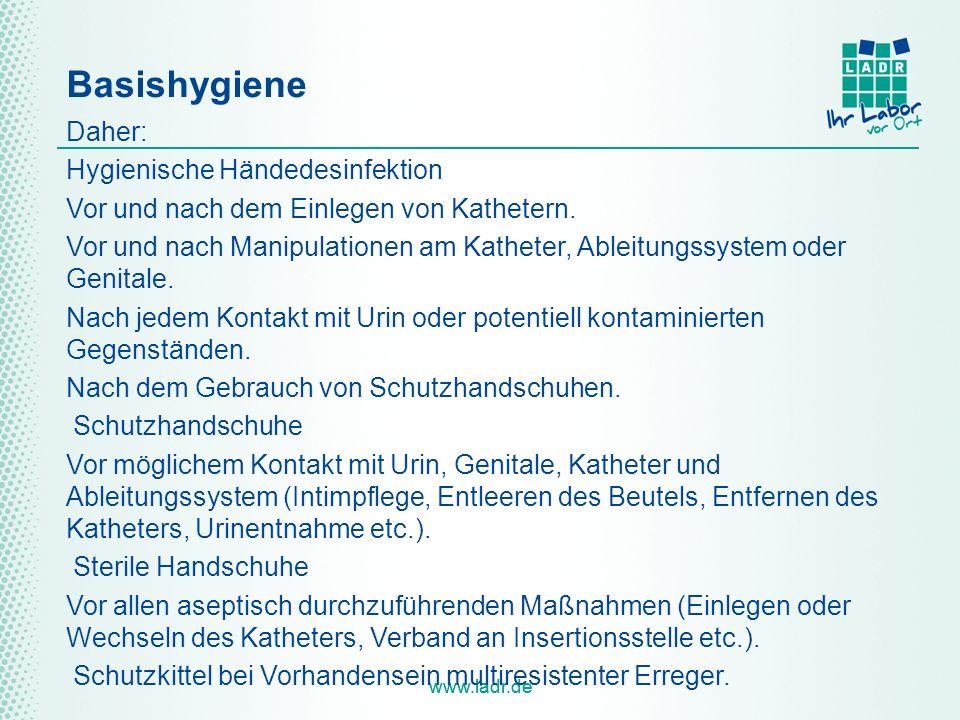 Basishygiene Daher: Hygienische Händedesinfektion