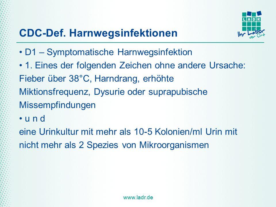 CDC-Def. Harnwegsinfektionen