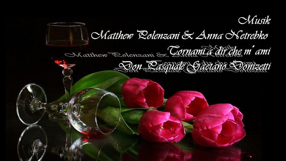 Musik Matthew Polenzani & Anna Netrebko Tornami a dir che m´ami Don Pasquale Gaetano Donizetti