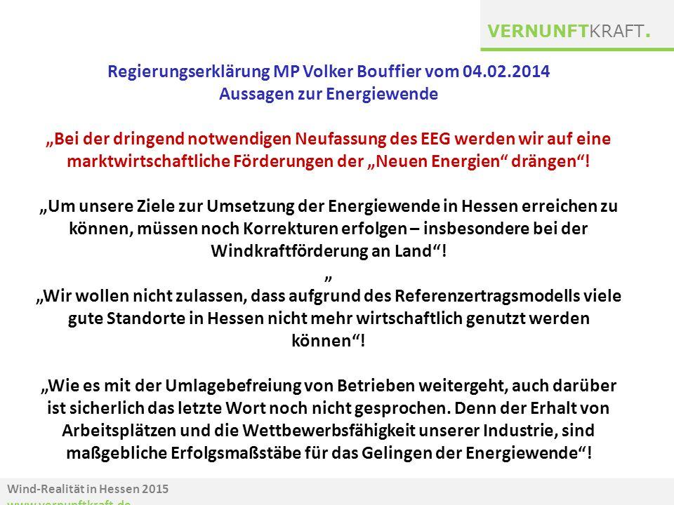 Regierungserklärung MP Volker Bouffier vom 04.02.2014