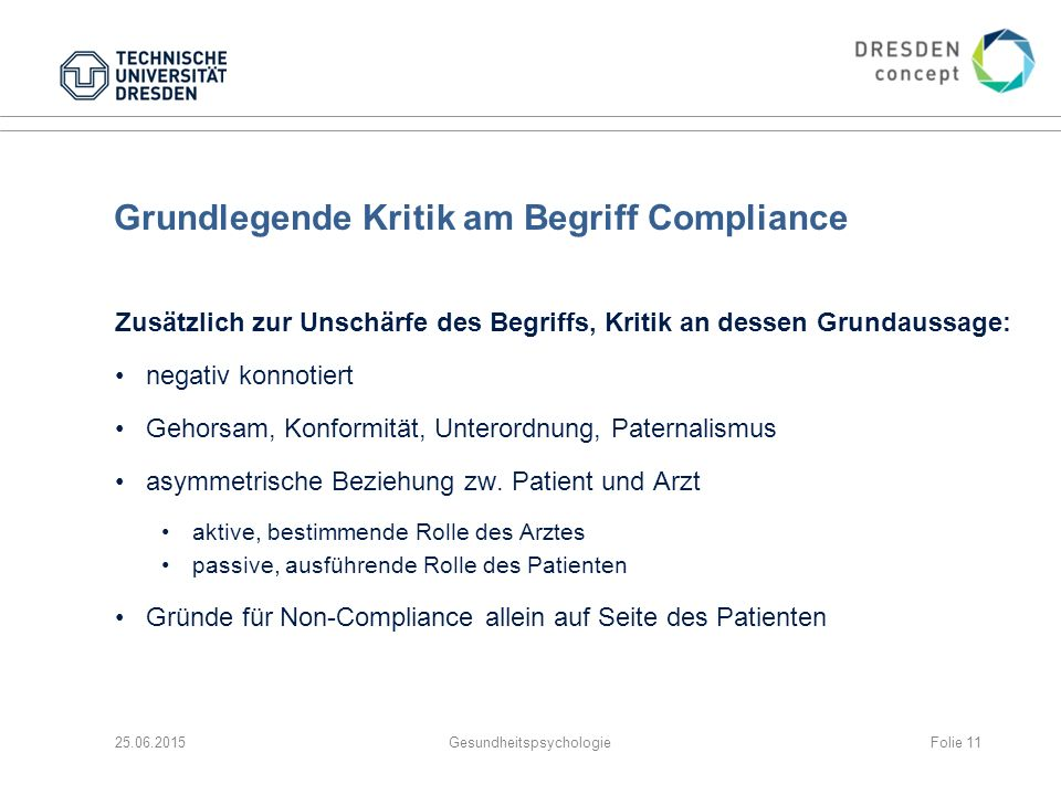 Grundlegende Kritik am Begriff Compliance
