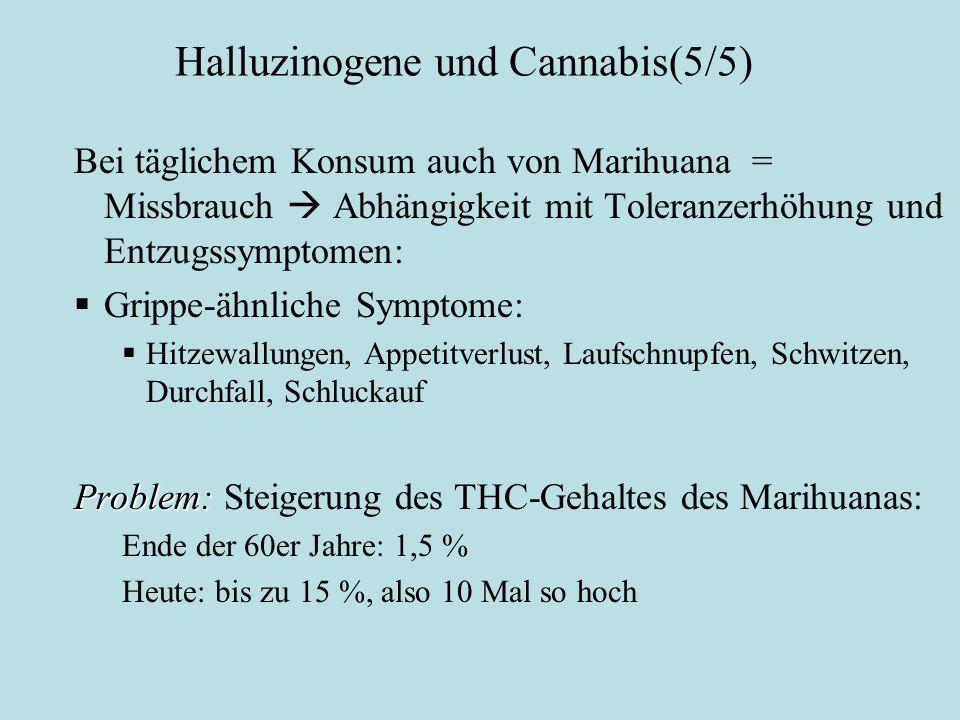 Halluzinogene und Cannabis(5/5)