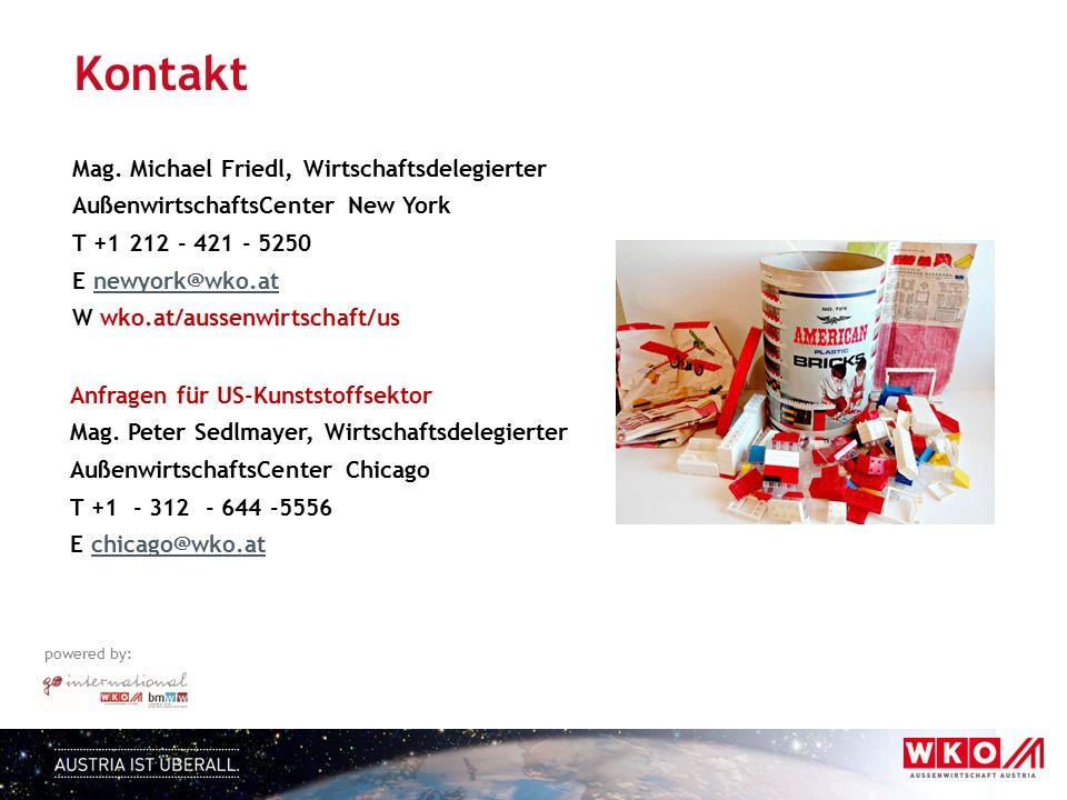 Kontakt Mag. Michael Friedl, Wirtschaftsdelegierter