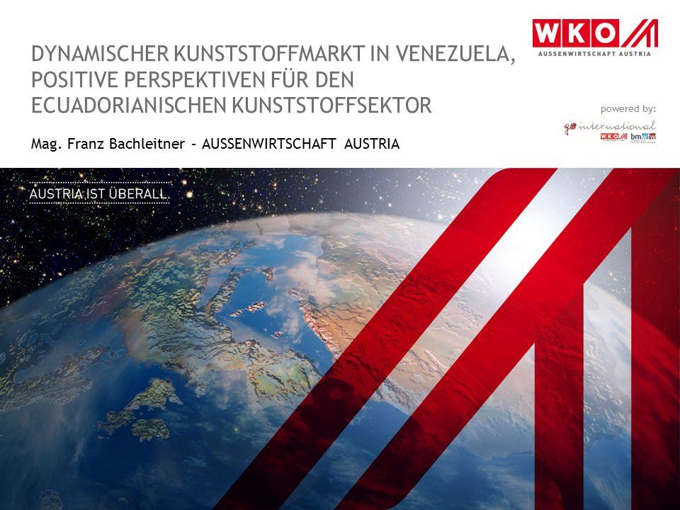 Mag. Franz Bachleitner – AUSSENWIRTSCHAFT AUSTRIA