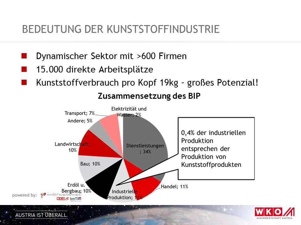 Bedeutung der Kunststoffindustrie