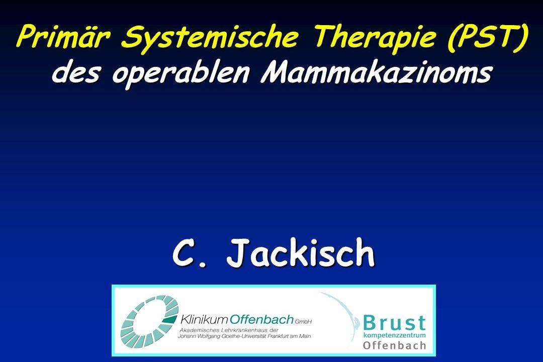 Primär Systemische Therapie (PST) des operablen Mammakazinoms