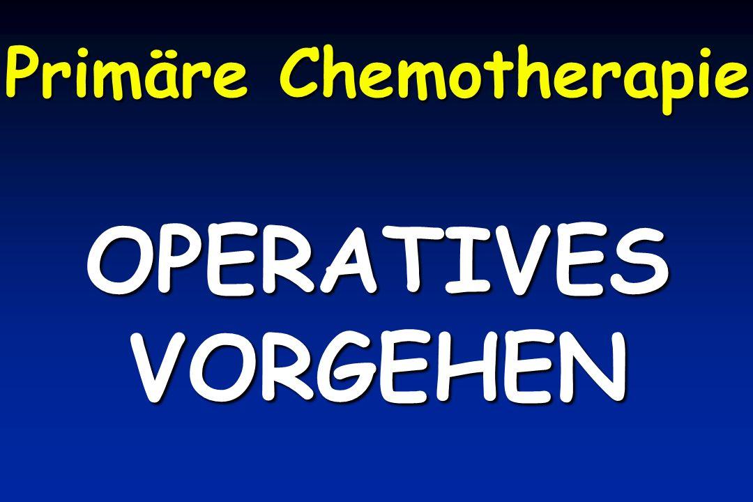 Primäre Chemotherapie
