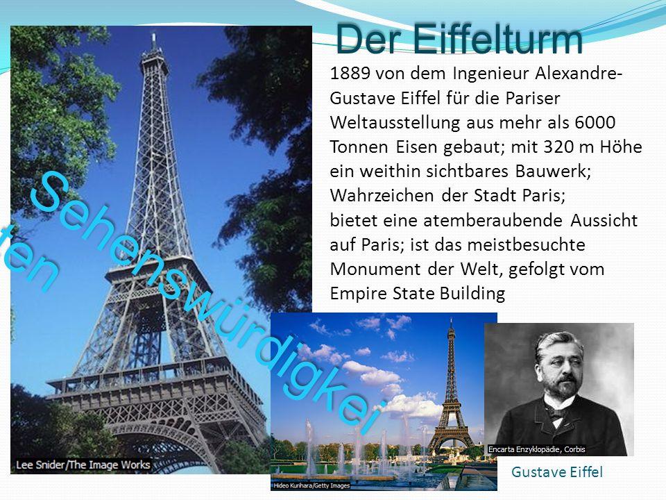 Sehenswürdigkeiten Der Eiffelturm