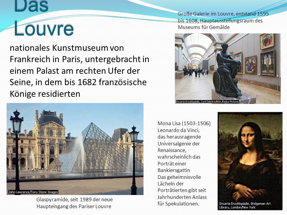 Große Galerie im Louvre, entstand 1595