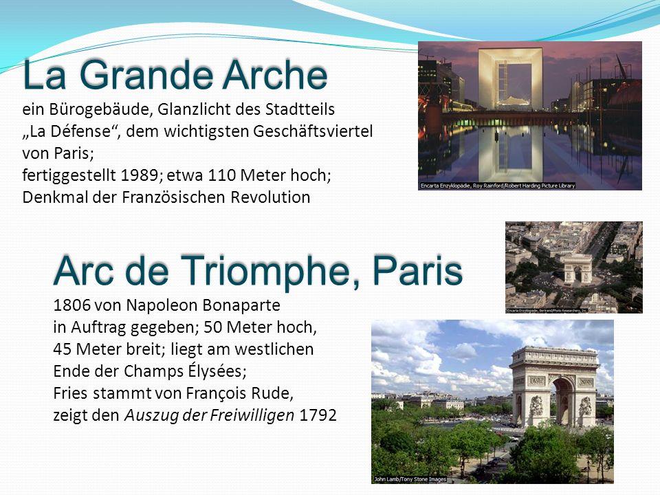 La Grande Arche Arc de Triomphe, Paris
