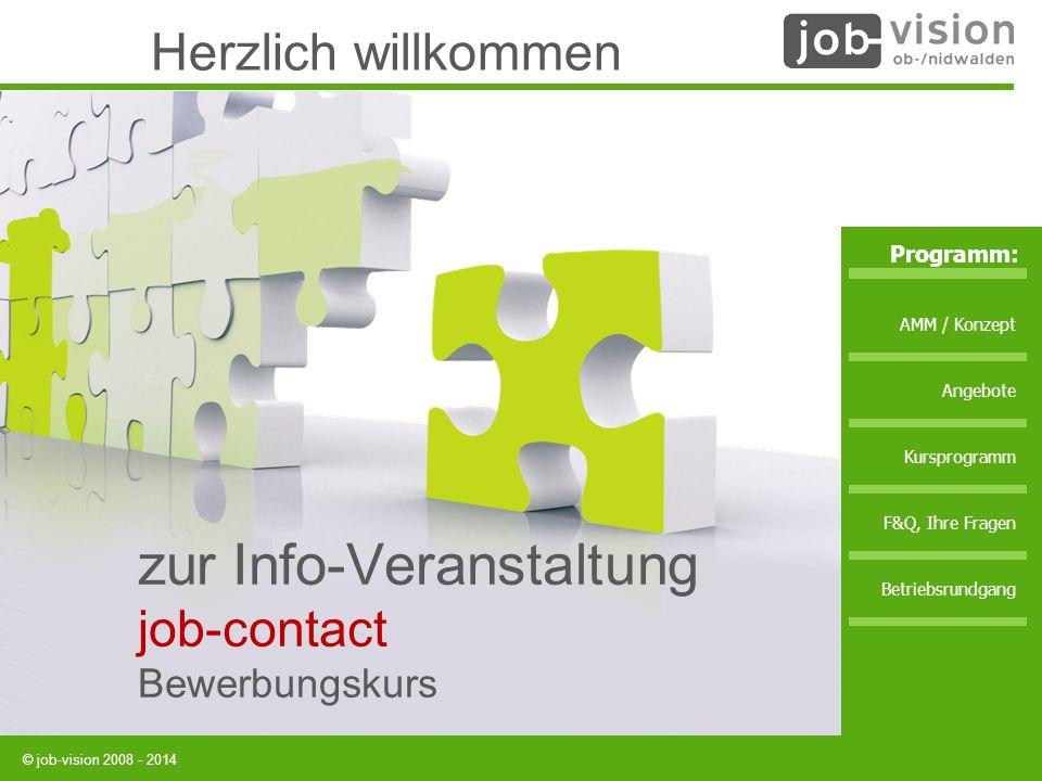zur Info-Veranstaltung job-contact Bewerbungskurs