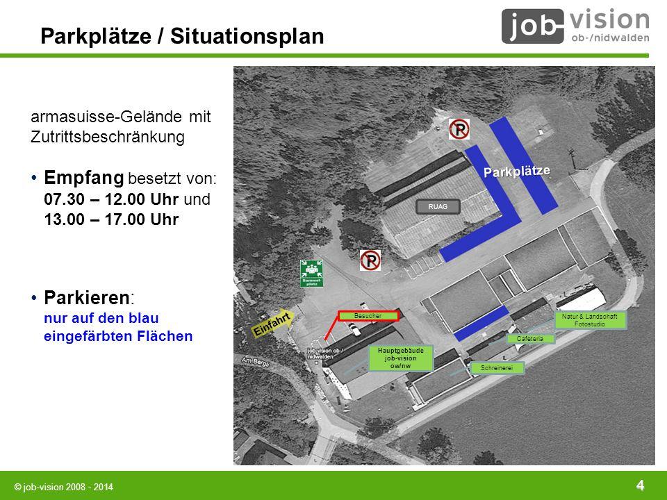 Parkplätze / Situationsplan