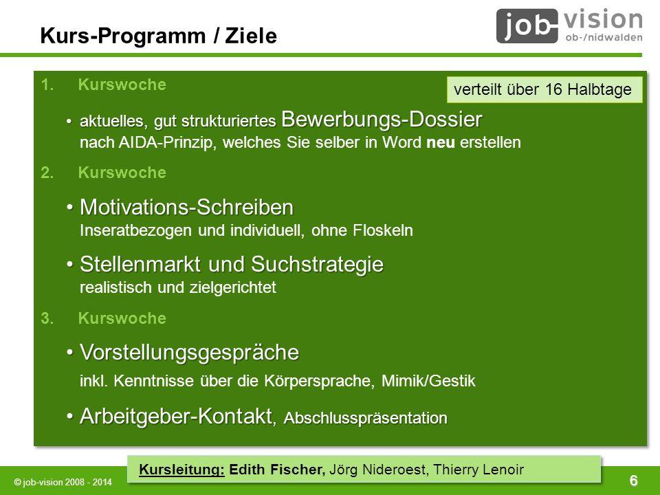 job - contact Bewerbungsseminar