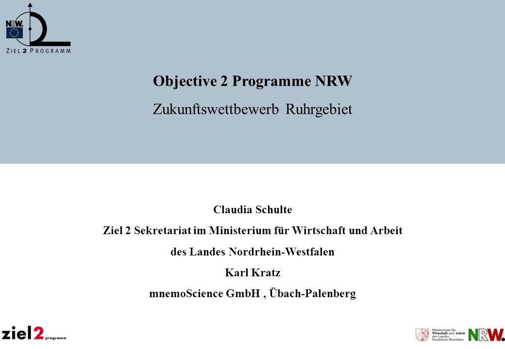 Objective 2 Programme NRW