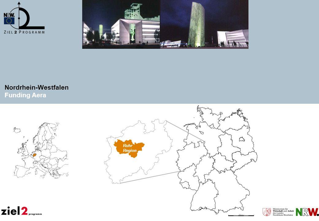 Nordrhein-Westfalen Funding Aera Ruhr Region Dortmund Duisburg Essen