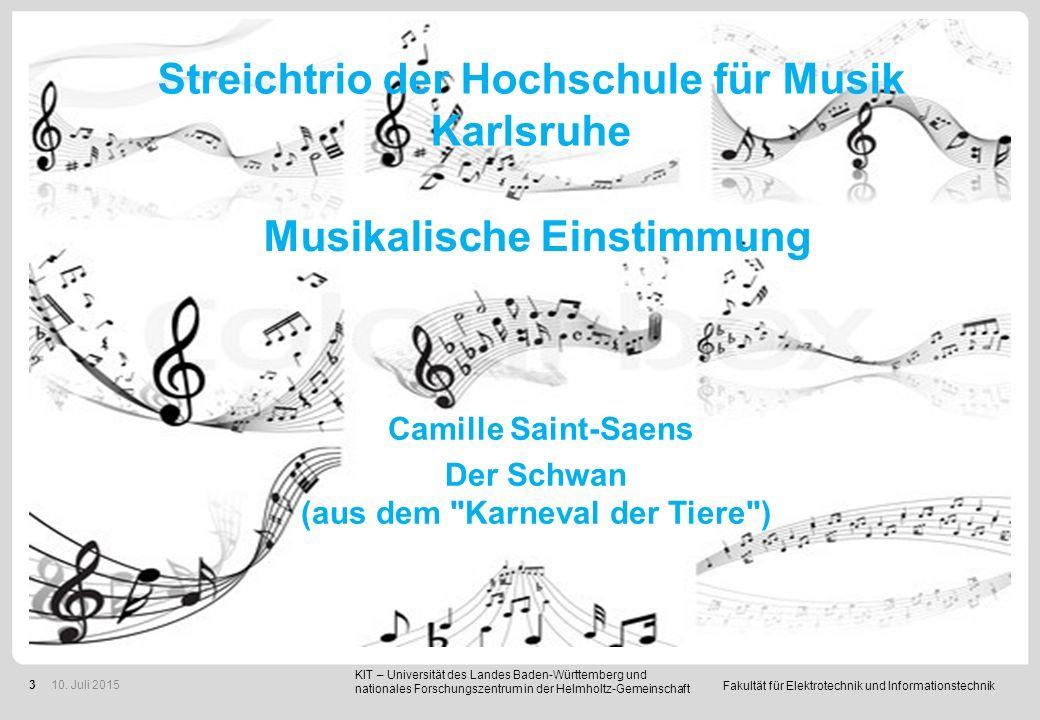 Streichtrio der Hochschule für Musik Karlsruhe