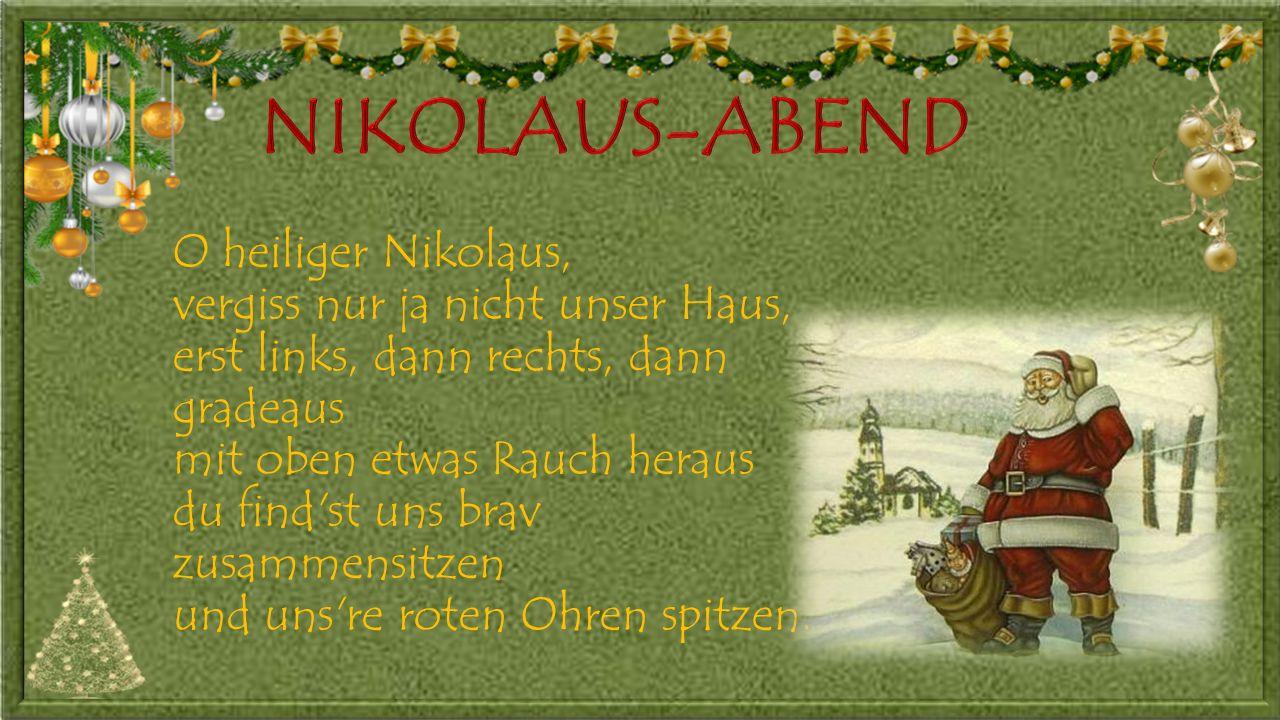 NIKOLAUS-ABEND
