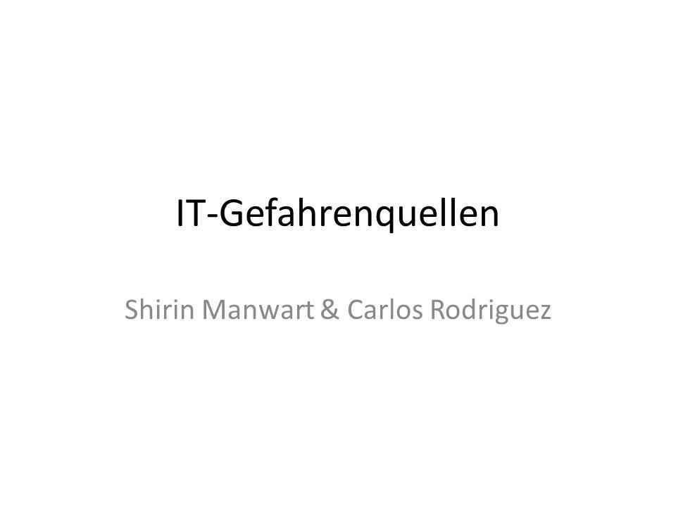 Shirin Manwart & Carlos Rodriguez