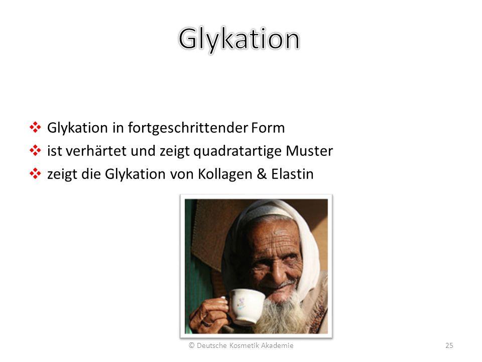 Glykation: Proteinvernetzung/Carbonylisation